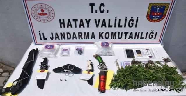 Uyuşturucu Operasyonunda 13 gözaltı