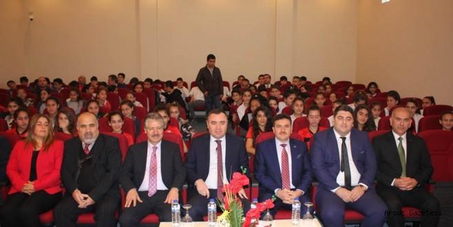 Voleybolda Dereceye Giren Öğrenciler Ödüllendirildi.