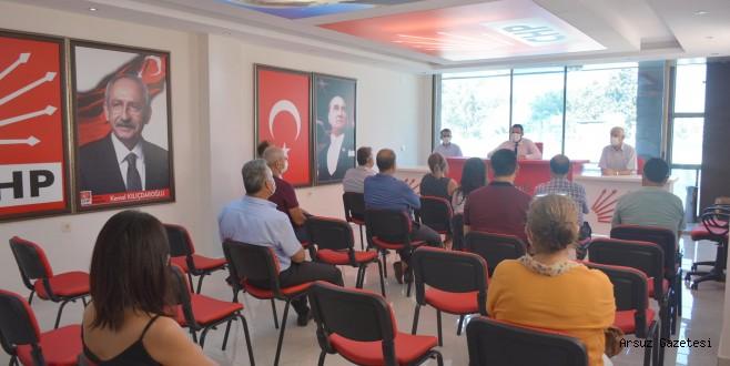 Yeni Binada İlk Grup Toplantısı Yapıldı